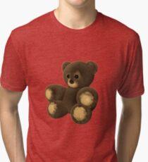 Cute furry teddy bear Tri-blend T-Shirt