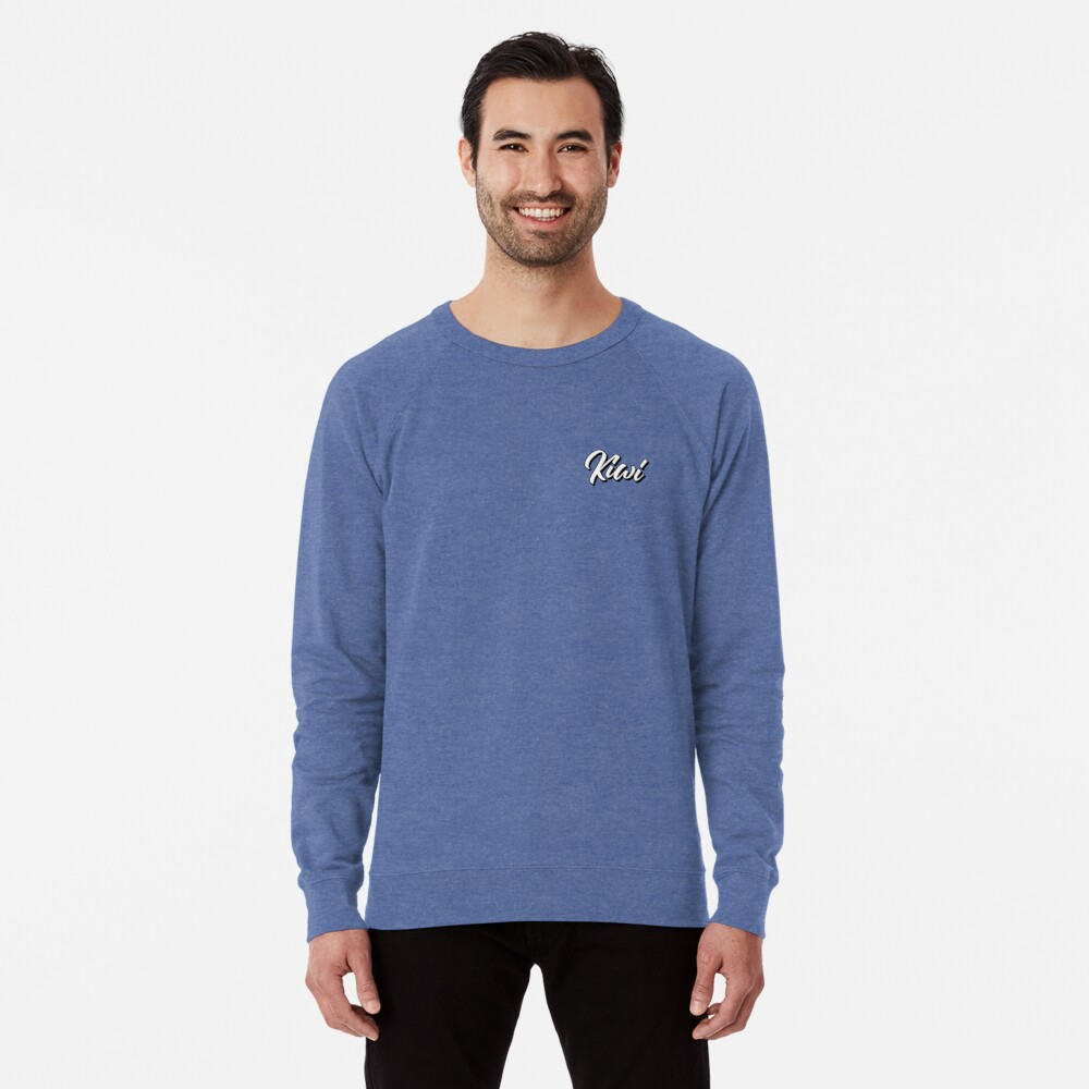 White Kiwi Lightweight Sweatshirt