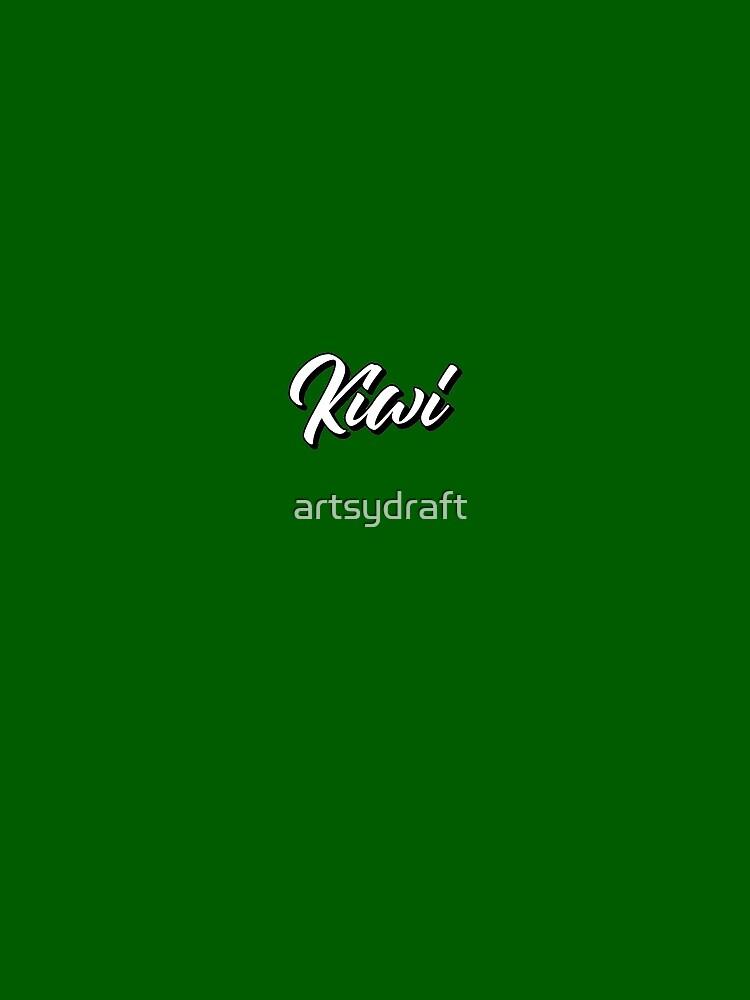 White Kiwi by artsydraft