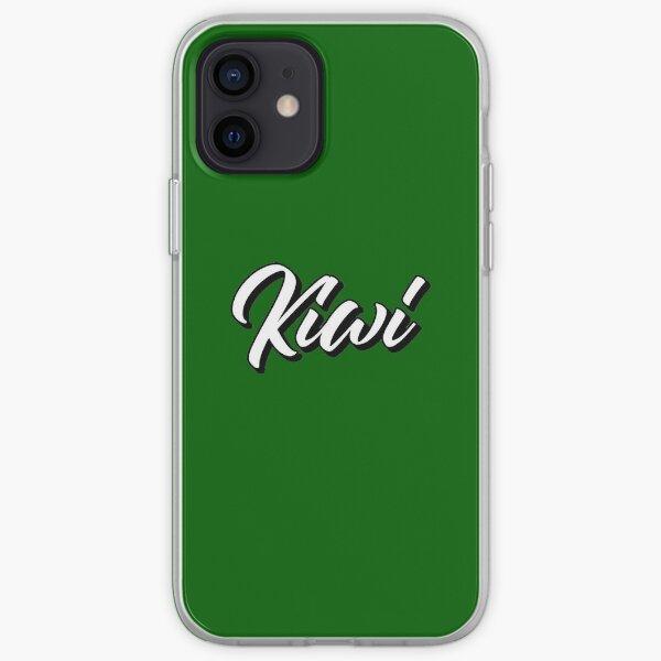 White Kiwi iPhone Soft Case
