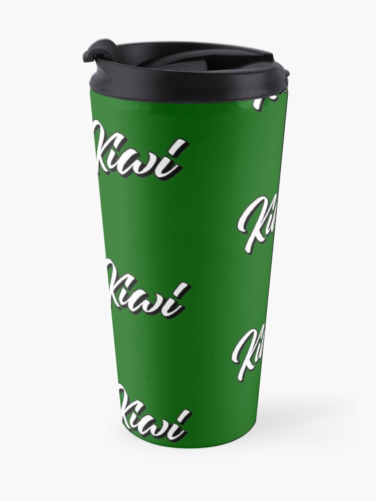 Alternate view of White Kiwi Travel Mug