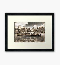 P.S.Emmylou (art) Framed Print
