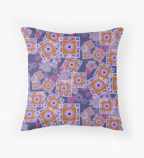 Mixture of Roses and Other Flowers Floor Pillow