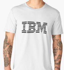 ibm black logo Men's Premium T-Shirt