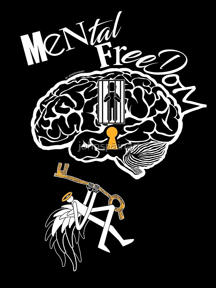 Mental Freedom by johnspainart