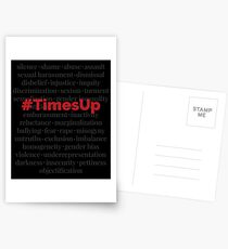 #TimesUp Above the Noise Graphic Postcards