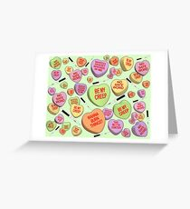 Just Romantic Things Greeting Card