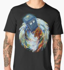 Tornado Time Vortex Abstract Men's Premium T-Shirt