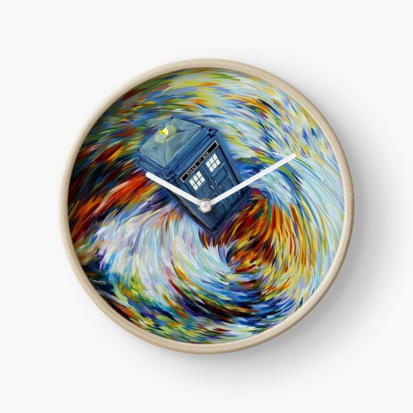 Tornado Time Vortex Abstract Clock