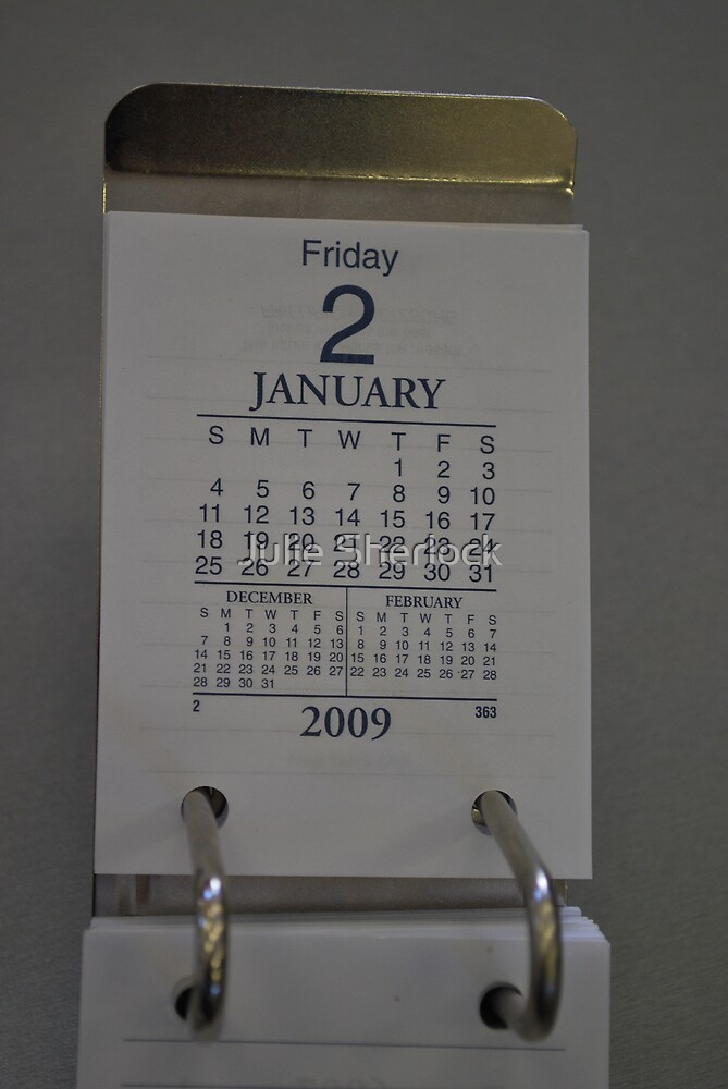 First day at work for the New Year by Julie Sherlock
