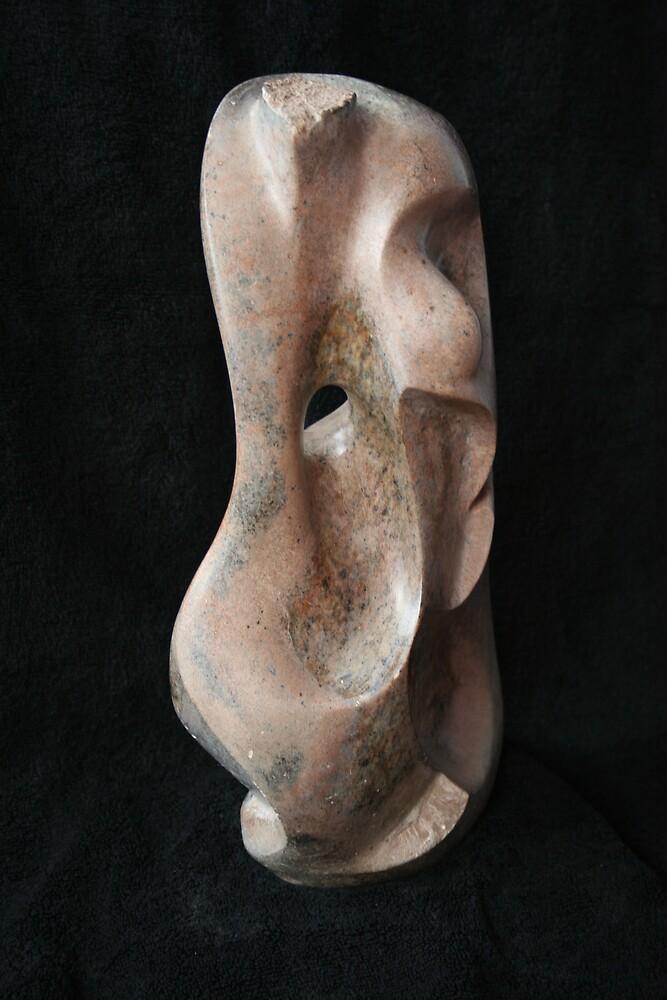 Female form by Hans  Nielsen