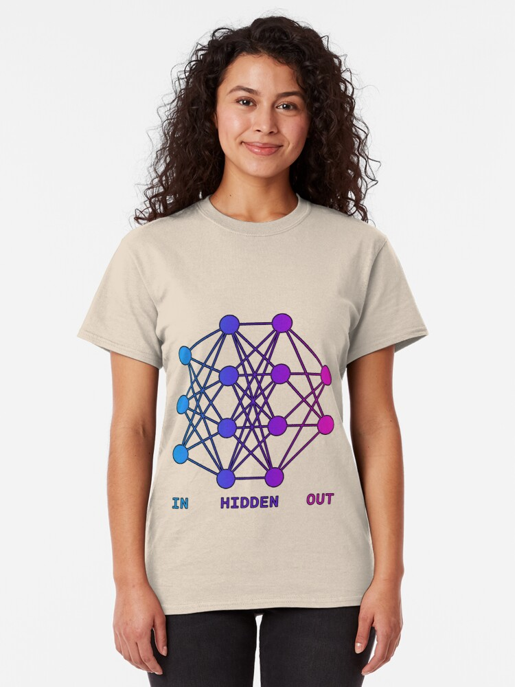 Alternate view of Feed Forward Neural Net Classic T-Shirt