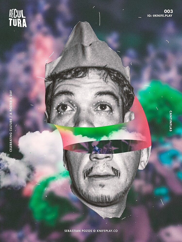 Cantinflas - Recultura 003 by knifeplay