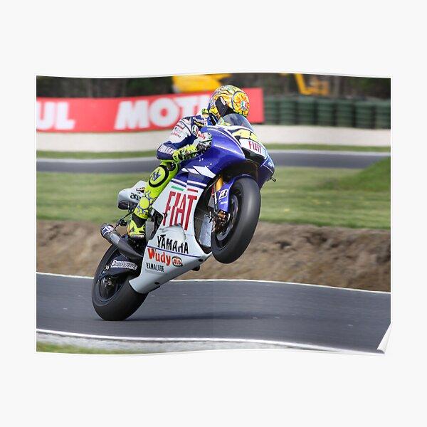 Valentino Rossi Mono 2008 Poster