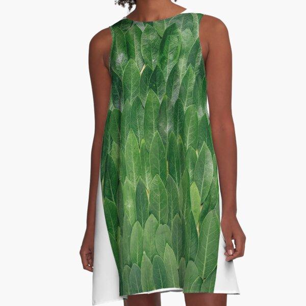 Nature exotique A-Line Dress
