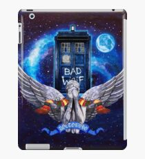 Angel dont blink iPad Case/Skin