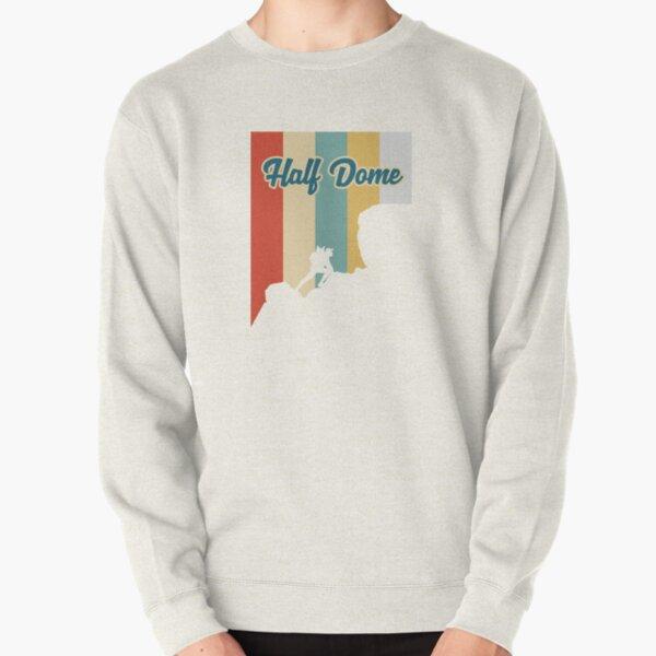 Retro Half Dome Mountain Hiking T-Shirt Pullover Sweatshirt