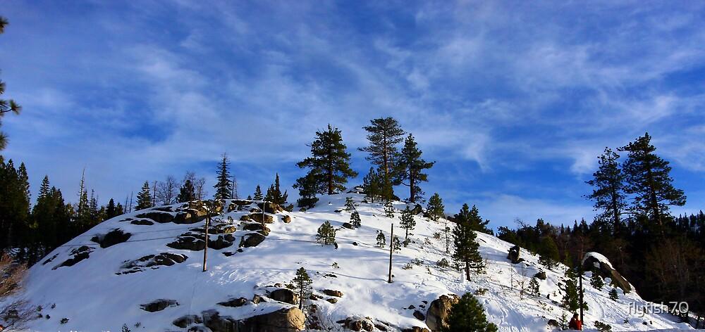 Sierra Nevada Mountains by flyfish70