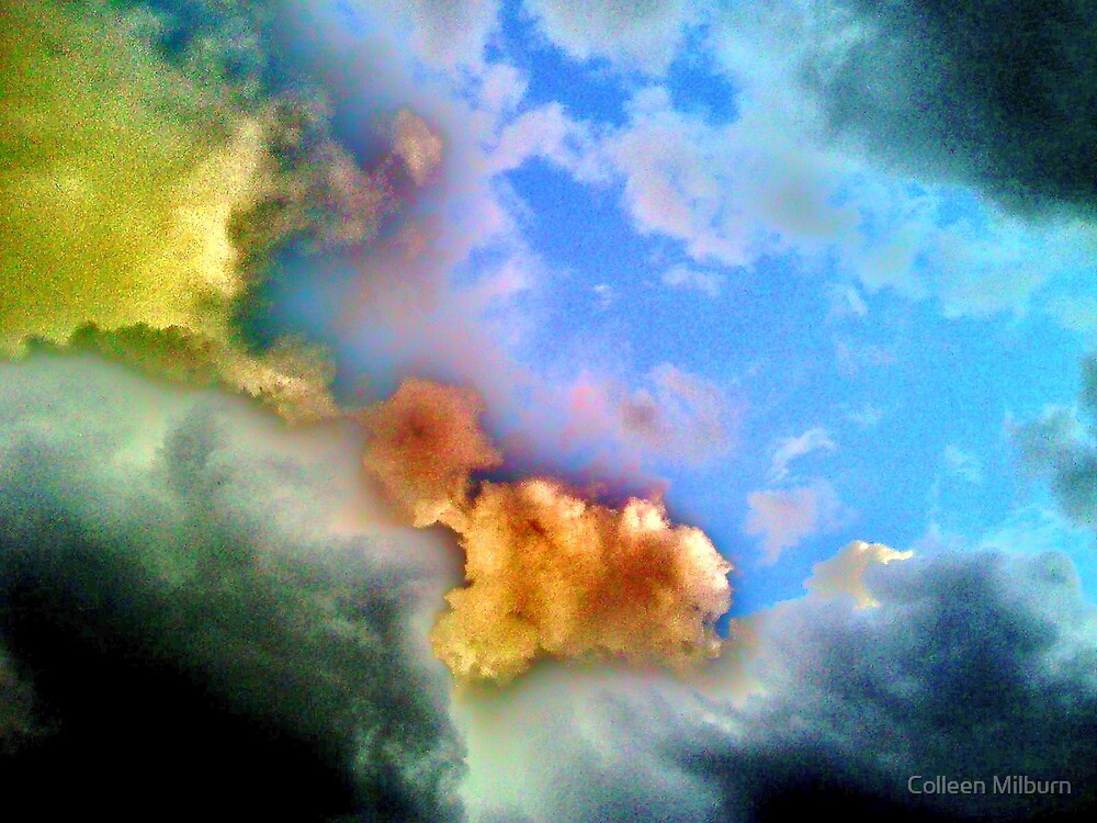 Clouds by Colleen Milburn