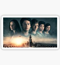 Maze Runner: The Death Cure Poster Sticker