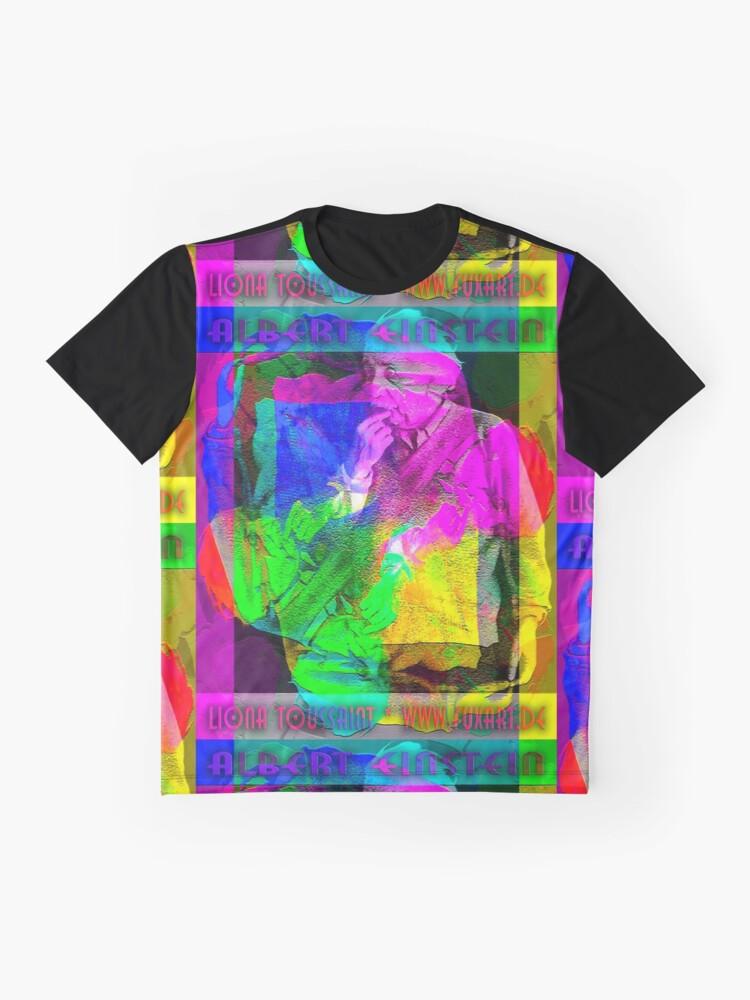Alternative Ansicht von ALBERT EINSTEIN Grafik T-Shirt