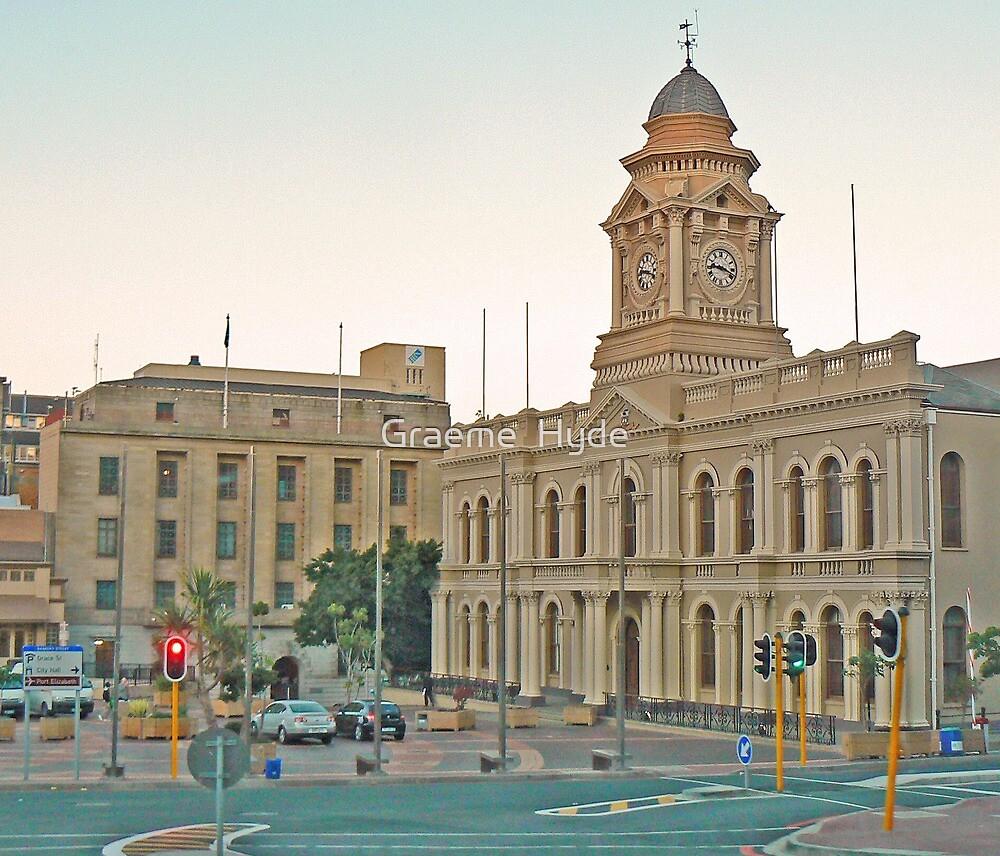 Port Elizabeth City Hall by Graeme  Hyde