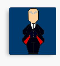 Pixel 12th Doctor Canvas Print