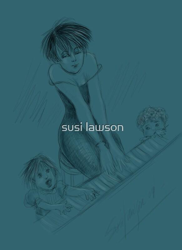 The Female Artist by susi lawson