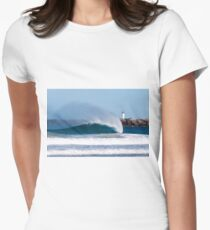 Island Dreaming Women's Fitted T-Shirt