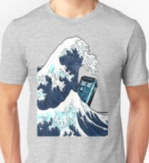 Phone booth vs The Great wave Unisex T-Shirt