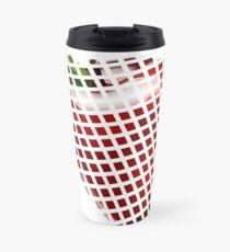 Apple pixel  Travel Mug
