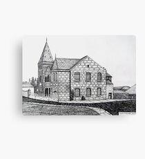266 - CAPEL BYCHAN, RHOSLLANERCHRUGOG - DAVE EDWARDS - INK - 2017 Canvas Print