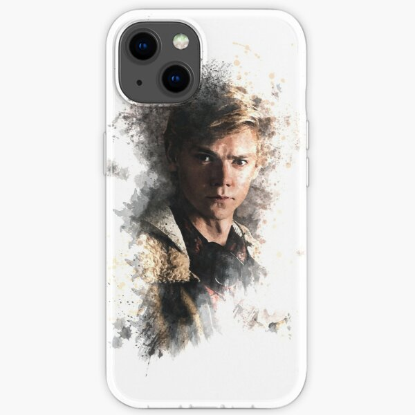 Newt - Maze Runner: Death Cure Painting Design Color iPhone Soft Case