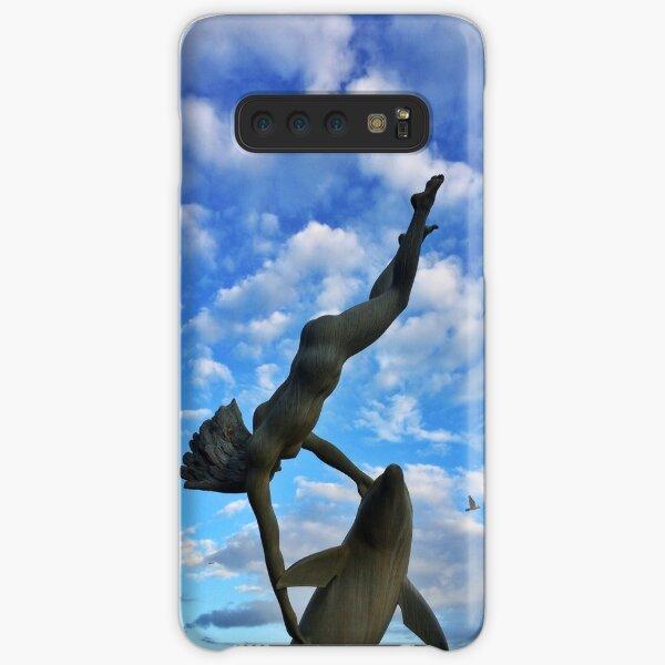 Girl with a Dolphin Samsung Galaxy Snap Case