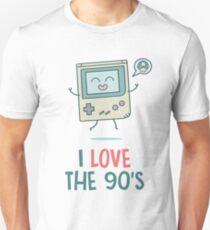 Videogames I Love the 90's Unisex T-Shirt