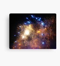New Years Eve Fireworks ! Canvas Print
