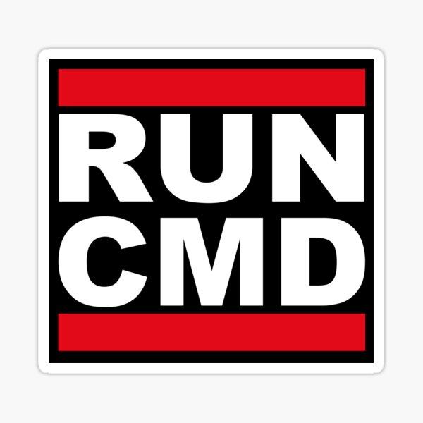 Hacker Code Run CMD Mens T-Shirt Geek Developer Band DMC Nerd
