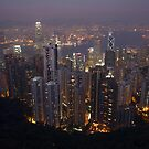 Hong Kong Lit Up by Bobby McLeod