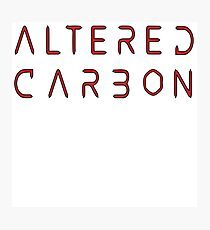 ALTERED CARBON Photographic Print