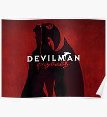 Devilman Crybaby Anime Manga Poster