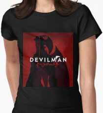 Devilman Crybaby anime manga Women's Fitted T-Shirt