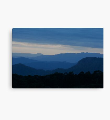 Blue Hills Canvas Print