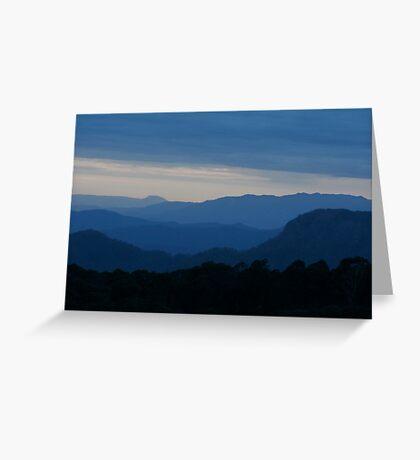 Blue Hills Greeting Card
