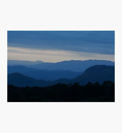 Blue Hills Photographic Print
