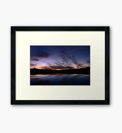 Tharwa Sunset Framed Print