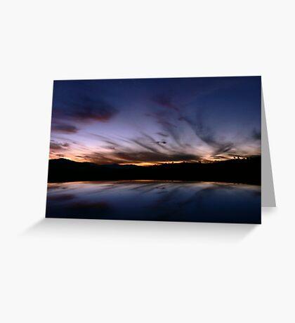 Tharwa Sunset Greeting Card