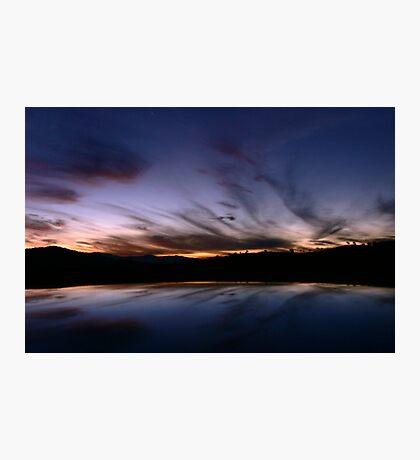 Tharwa Sunset Photographic Print
