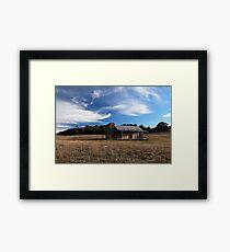 Brayshaw's Hut Framed Print