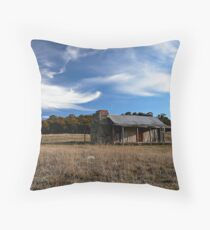 Brayshaw's Hut Throw Pillow