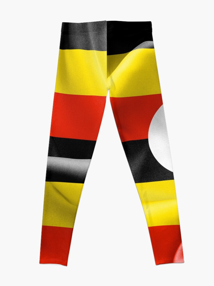 Alternative Ansicht von Uganda-Flagge Leggings